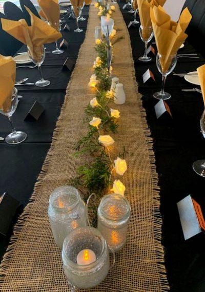 table setting at nambucca heads rsl